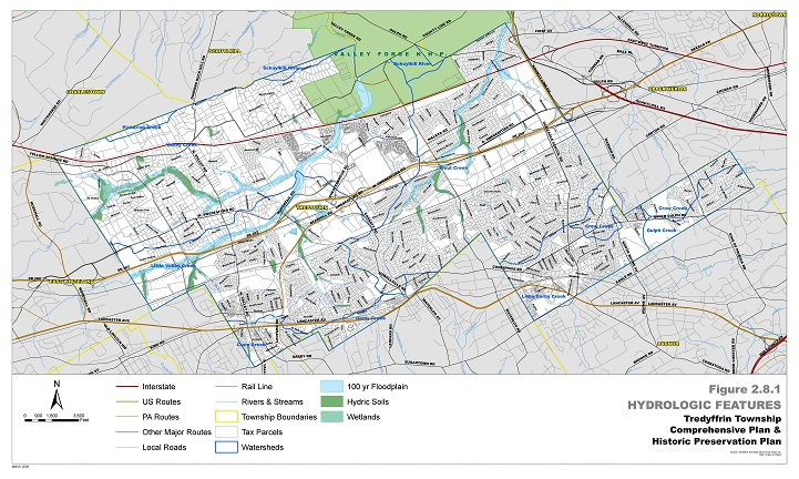 Maps | Tredyffrin Township Chester County Pa District Map on frederick county md district map, pa state representatives district map, pa house district map,