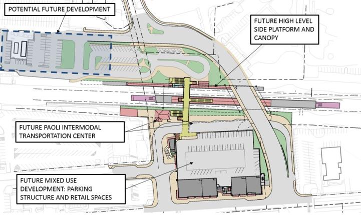 Intermodal Station and Garage Improvements labeled