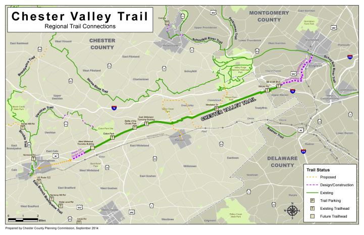 Chester Valley Trail | Tredyffrin Township on philadelphia county, map of sadsbury township, allegheny county, cumberland county, map of greater philadelphia region, berks county, map pa county, map of chester valley trail, delaware county, map of lititz, franklin county, map of sharon hill, map of haverford college, map of west jersey, battle of brandywine, map of king of prussia area, schuylkill county, map of penn state schuylkill, map of caln township, lancaster county, map of muhlenberg township, adams county, bucks county, map of the philadelphia region, map of west vincent township, map of spring city, fulton county, montgomery county, west chester, york county, map of drexel hill, map of marsh creek state park, map of west goshen, dauphin county, map of arcadia university, map of elkins park,